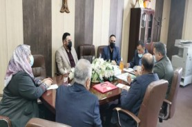 Environment Research Center Held Meeting