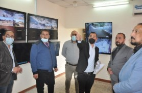 Prof. Dr. AL Ghaban Inspects the Divan Affairs Dept. & Citizens Affairs Division at UOT