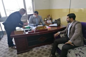 The Financial Affairs Department fulfill the dues of the University staff